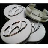 Emblema Tapa Aro Hyundai Nuevas !