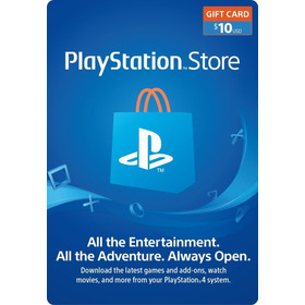 Playstation Store Gift Card 10$ Usa Region