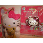 Hello Kitty Sanrio - Aretes, Sortija Y Munequito