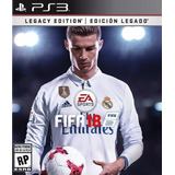 Ea Fifa 2018 Fifa18 Legacy Edition Digital Ps3 Neogamez
