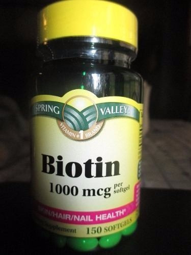Spring valley biotin 1000 mcg