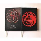 Libreta Game Of Thrones Targaryen Notebook Planner Regalo