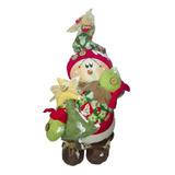 Muñeco Country Hombre Nieve Estrella 43cm Navidad Regalo Lov