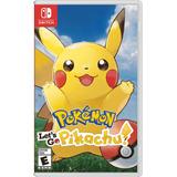 Juego Nintendo Switch Pokémon Let's Go Pikachu (eu)