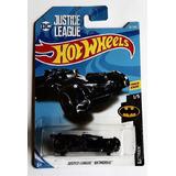 Hot Wheels Justice League Batmobile Batman Batimovil Azul Va