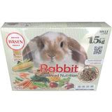 Comida Para Conejo Adulto 1.5kg Marca Hasen Alemana