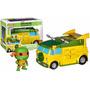 Las Tortugas Ninja - Turtle Van - Pop! - Funko - Origintoys