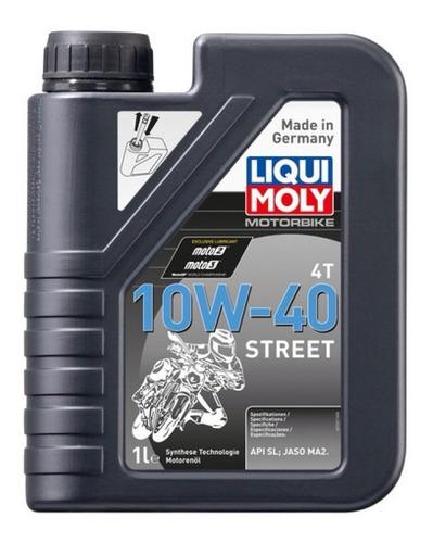 Aceite Liqui Moly Motobike 4t 10w-40 Street Api Sl Jaso Ma2