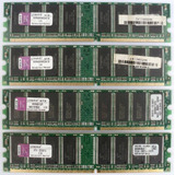 Memorias Ddr1 Ddr 1gb 1 Giga Bus 400 Kingston Como Nuevas