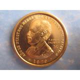 Moneda Oro Peru Año Heroes Guerra Pacifico F. Garcia Escasa