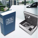 Caja Seguridad Fuerte Camuflada Tipo Libro Con Llave
