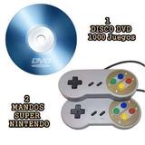 Promocion 02 Mandos Super Nintendo Usb Para Pc Y Laptop