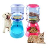 Dispensador De Comida Y Agua Automático Para Perros Gatos