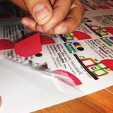 Papel Adhesivo Transparente A4, Impresora De Tinta