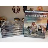 Interstellar Steelbook 4k + Hd Película Nuevo Original
