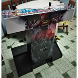 Joystick Palanca Arcade Pedestal Ps3 Pc Android + Dvd Juegos