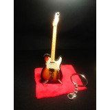 Guitarras Llaveros Fender Telecaster J. Greenwood Radiohead