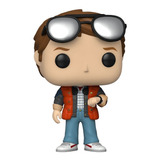 Funko Pop Movies: Back To The Future - Marty Checking Watch