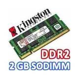 Memoria Ddr2 2gb Para Laptop Bus 667 Y 800 Mhz