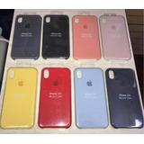 Silicone Case Iphone X, Xs, Xr, Xs Max Apple Tienda