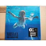 Nirvana Nevermind Lp 180g Back-to-black Vinyl Nuevo Sellado