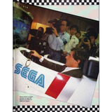 Ayrton Senna Super Monaco Gp 2 Sega Genesis Ferrari Formula