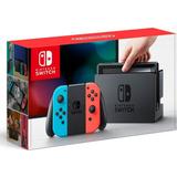 Consola Nintendo Switch Controles Joy-con Azul Neón Y Rojo