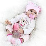 Muñeca Bebe Reborn Silicona Seedollia Niña Real Life Baby