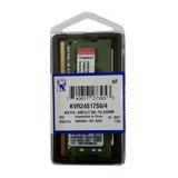 Memoria Ram Ddr4 4gb 2400mhz Kingston De Laptop Kvr24s17s6/4