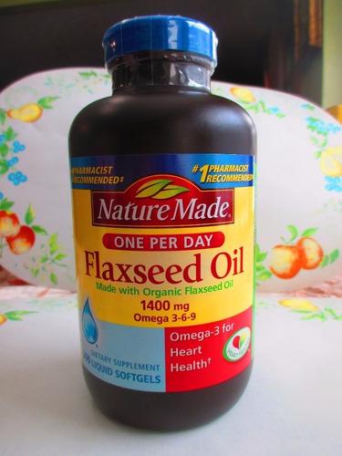 Aceite linaza 1400 mg con omega 3 6 9 marca nature s - Precio aceite de linaza ...