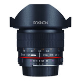 Rokinon 8mm F/3/5 Lens With Removable Hood Canon