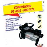 Compresor De Aire Portatil - Inflador De Neumaticos Llantas