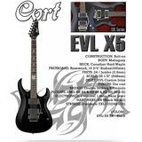 Guitarra Electrica Cort Evl-x5 Con Pastillas Emg Xxxxxxxxxxx