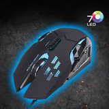 Mouse Gamer Micronics Hypnotic 7 Colores Led En Oferta!!