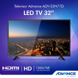 Tv Led 32 Advance Señal Digital Nuevos Sellados
