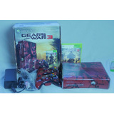 Xbox 360 Edicion Limitada Gears Of Wars 3 Con Caja Y Manual