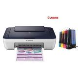 Impresora Canon Pixma E401 Con Sistema De Tinta Instalado