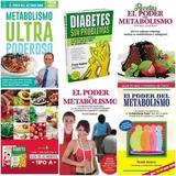 5 Libros El Poder Del Metabolismo Frank Suárez Original