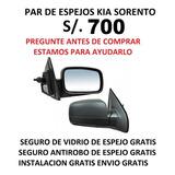 Cd Espejo Kia Sorento + Instalacion+seguro Antirobo+envio
