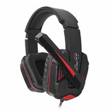 Headset Audifono Gamer Halion X50  Luces Con Micrófono