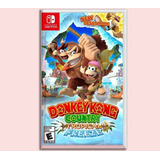 Donkey Kong Nintendo Switch Country Tropical Freeze Disponib