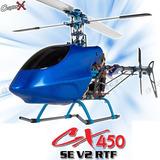 Helicóptero A Control Remoto Copterx 450 Listo Para Volar