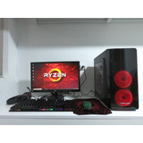 Pc Gamer Completa Ryzen 3 3200g + Monitor Hd 22 Pulgadas