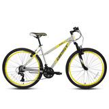 Bicicleta Best De Mujer Aida Aro 26 Gris/amarillo