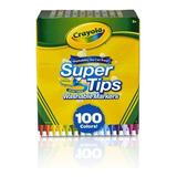 Crayola Supertips 100 Unidades