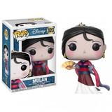 Funko Pop - Princesa Mulan De Disney