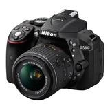 Cámara Nikon D5300  24.2mp 18-55mm Vr Nuevas Miraflores