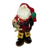 Muñeco Country Papanoel Jengibre 45cm Navidad Regalo Adorno