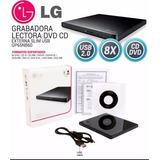 Grabador - Externo Lg Usb 2.0 - Cd/dvd Envio Gratis New
