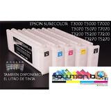 Cartucho Recargable Para Plotter Epson T3270 T5270 T7270